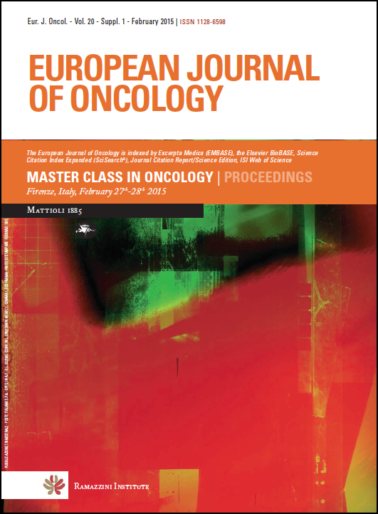 Archives   European Journal of Oncology, Occupational and